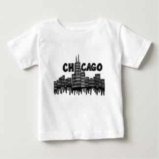 シカゴv2 ベビーTシャツ