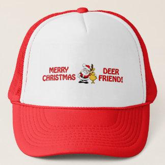 """""""シカ友人""""のクリスマスの帽子は、色を選びます キャップ"""