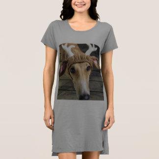 シカ犬-かわいい犬- whippet ドレス