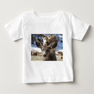 シカ ベビーTシャツ