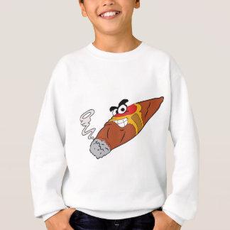 シガーのロゴ スウェットシャツ
