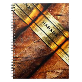 シガーのHabanaのキューバのノート ノートブック