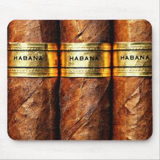 シガーのHabanaのキューバのマウスパッド マウスパッド