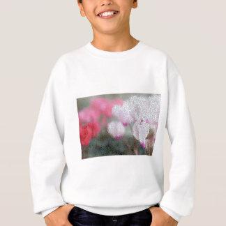シクラメンによってはモザイクが開花します スウェットシャツ