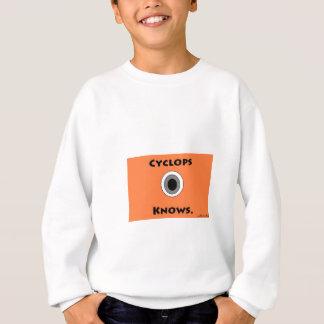 シクロプスは知っています スウェットシャツ