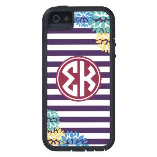 シグマΚ |のモノグラムのストライプパターン iPhone SE/5/5s ケース