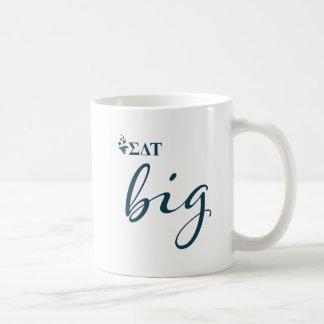 シグマデルタTau |の大きい原稿 コーヒーマグカップ