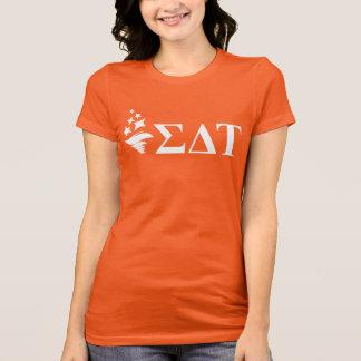 シグマデルタTau | Lilの大きいロゴ Tシャツ