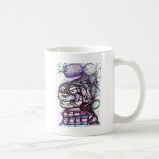 シグマ先唱者のオメガのジャンプ コーヒーマグカップ
