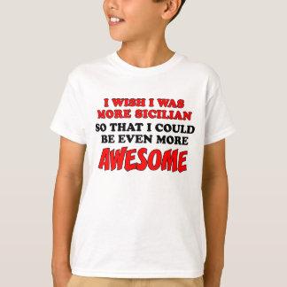 シシリアのより素晴らしい Tシャツ