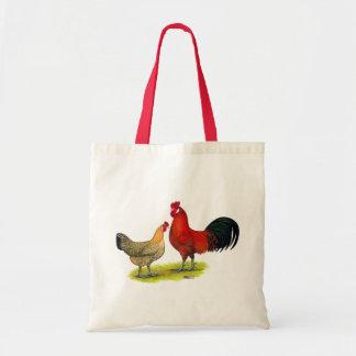 シシリアのキンボウゲの鶏 トートバッグ