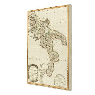 シシリーのナポリの王国 キャンバスプリント