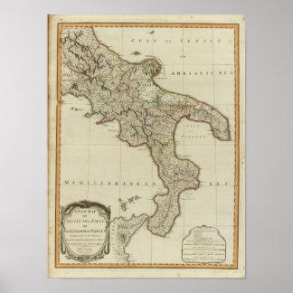 シシリーのナポリの王国 ポスター