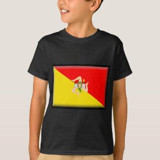 シシリーの旗 Tシャツ