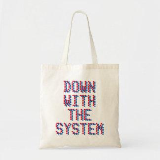 システムと トートバッグ