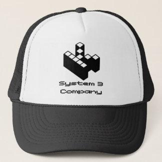 システム3会社- Kopimiのロゴ キャップ