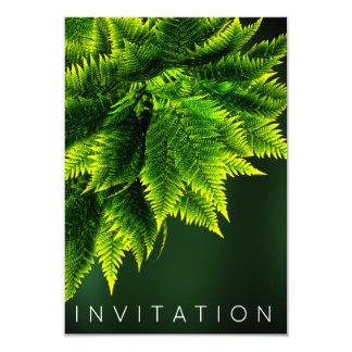 シダの熱帯シェフの夕食の緑の草木のCaliの緑 カード
