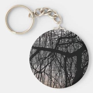 シダレヤナギの木 キーホルダー
