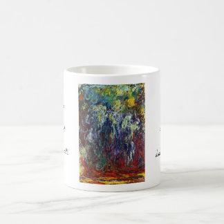 シダレヤナギ、Givernyクロード・モネの絵画 コーヒーマグカップ