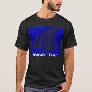 シダ、フラクタル- FTW! Tシャツ