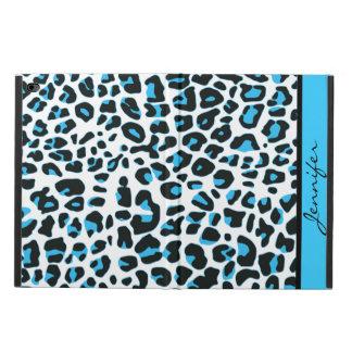 シックでカスタムで青いユキヒョウのiPadの空気2箱 Powis iPad Air 2 ケース