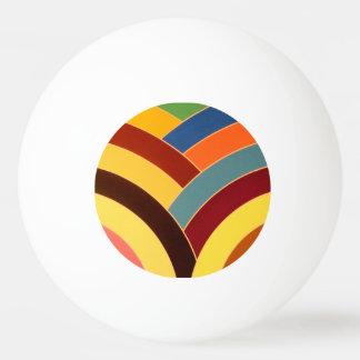 シックでモダンでエレガントなシェブロン 卓球ボール