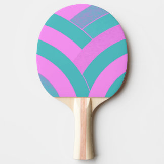 シックでモダンでエレガントなシェブロン 卓球ラケット
