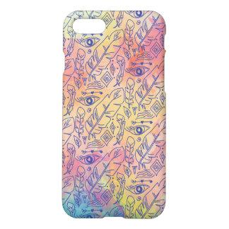 シックで多彩なボヘミアパターン iPhone 8/7 ケース