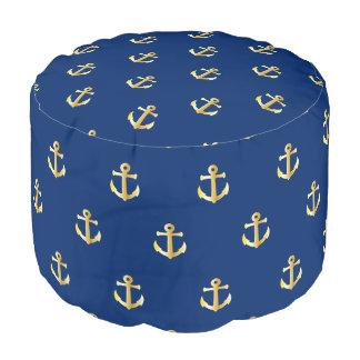 シックで模造のな金ゴールドの航海のないかりパターン プーフ