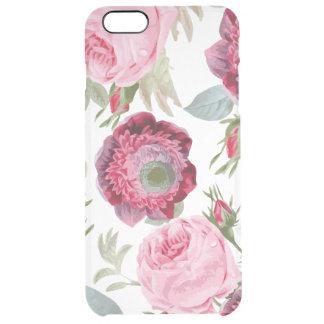 シックな国の署名の花柄 クリア iPhone 6 PLUSケース
