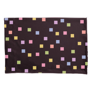 シックな枕COVER_FUNパステルの紙吹雪 枕カバー