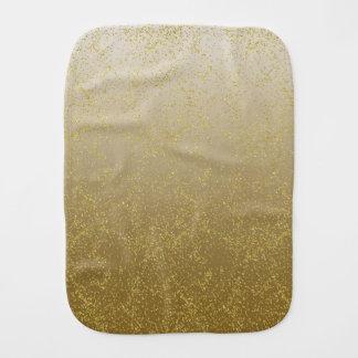 シックな金ゴールドの紙吹雪の輝き バープクロス
