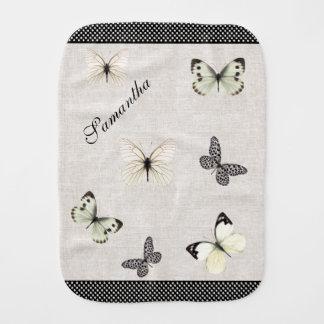 シックな麻布および蝶ベビー用バーブクロス バープクロス