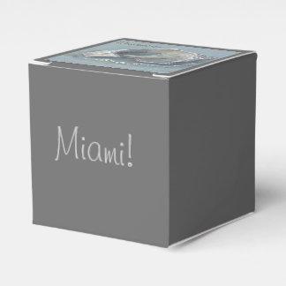 """シックなFAVOR/GIFT BOX_はマイアミを""""覚えています""""! フェイバーボックス"""