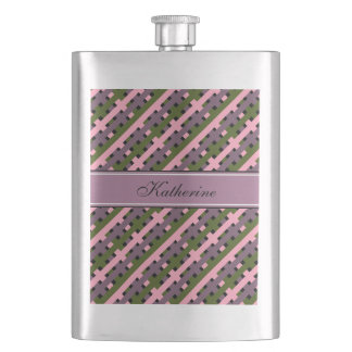 シックなFLASK_RADIANT ORCHID/GREEN/PINK/BLACK フラスク