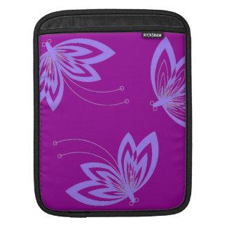 -シックなipadの袖モダンな蝶 iPadスリーブ