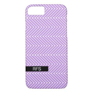 シックなIPHONE 7 CASE_COOLのモダンなジグザグ形のデザイン iPhone 8/7ケース