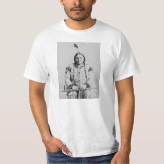シッティングブルのアメリカインディアン Tシャツ