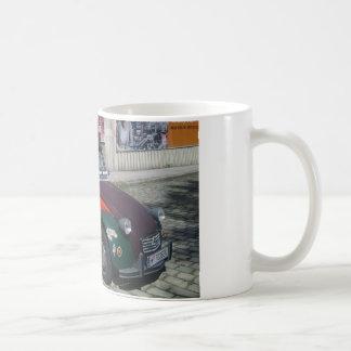 シトロエンカラフルな2 CV コーヒーマグカップ