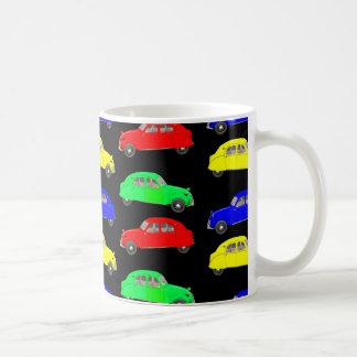 シトロエン2 CVはパターンをタイルを張りました コーヒーマグカップ