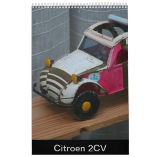 シトロエン2 CVフランスのな車のカレンダー2018年 カレンダー