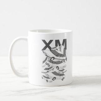 シトロエンXMのマグ コーヒーマグカップ