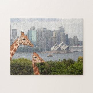 シドニーのキリンのパズル ジグソーパズル