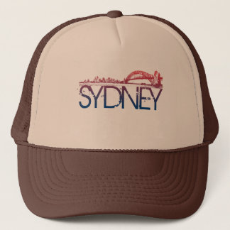 シドニーのスカイラインのデザイン キャップ