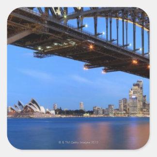 シドニーのハーバーブリッジのパノラマ、シドニーオペラ スクエアシール