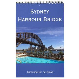 シドニーのハーバーブリッジオーストラリア カレンダー