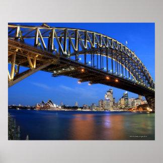 シドニーのハーバーブリッジ、シドニー・オペラハウス ポスター