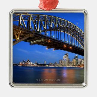 シドニーのハーバーブリッジ、シドニー・オペラハウス メタルオーナメント