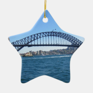 シドニーのハーバーブリッジ セラミックオーナメント