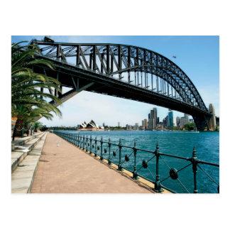 シドニーのハーバーブリッジ ポストカード